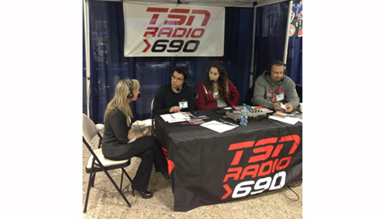 HEADS UP FOUNDER BRENLEY SHAPIRO ON TSN RADIO