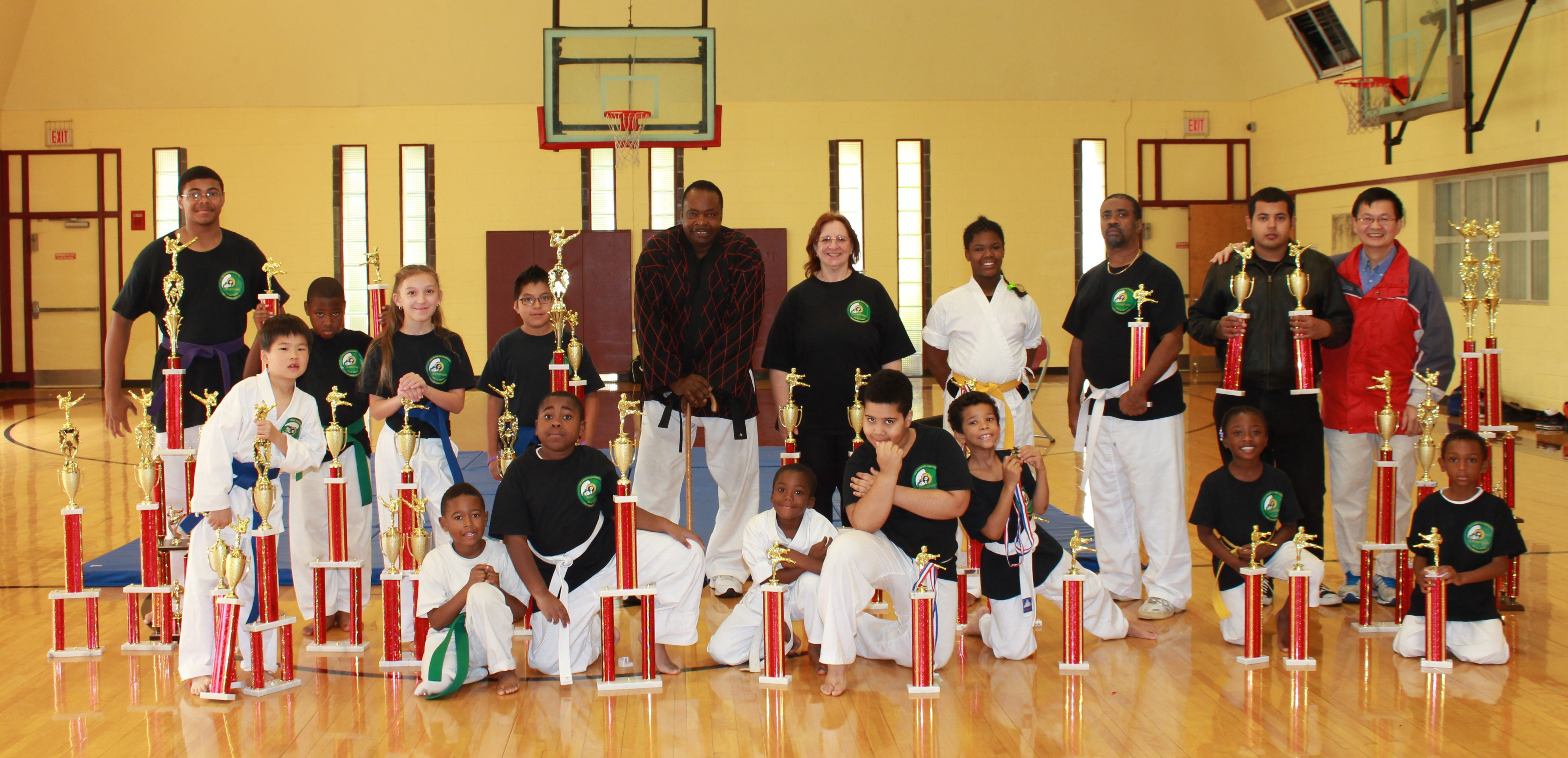 Tae Kwon Do Ramblers Self-Defense Systems Batch