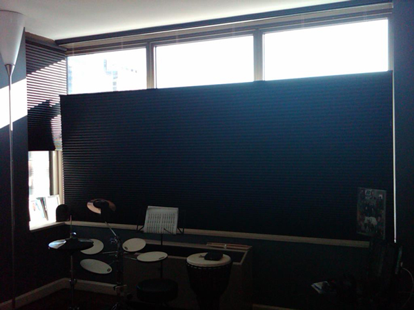 high tech window coverings