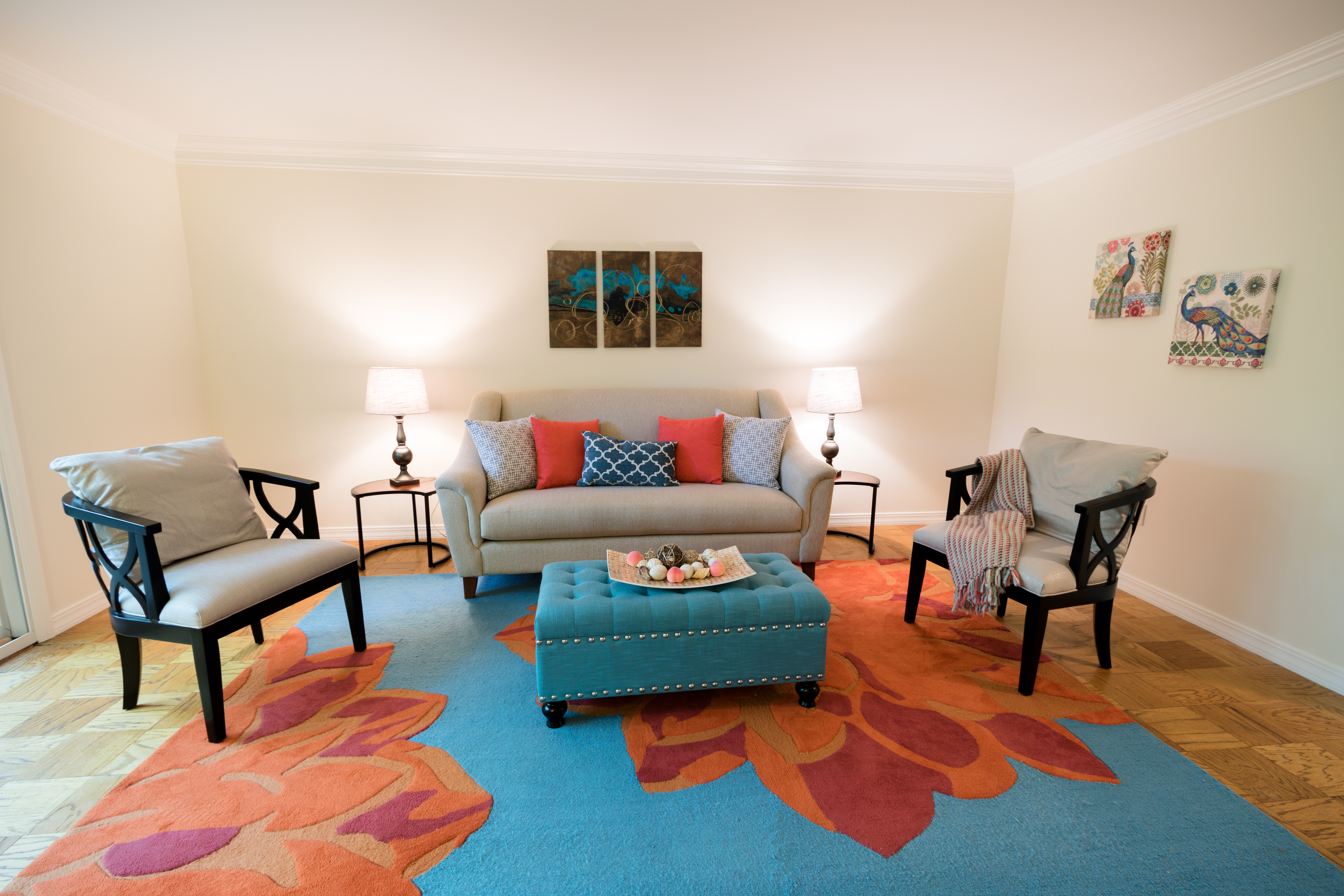 Reston townhome staging
