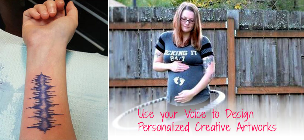 design your own iphone case,  custom canvas prints, digital art, Personalized Creative Artworks, baby's sonogram voicepix