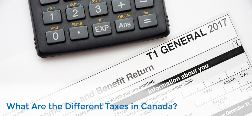 different taxes in Canada