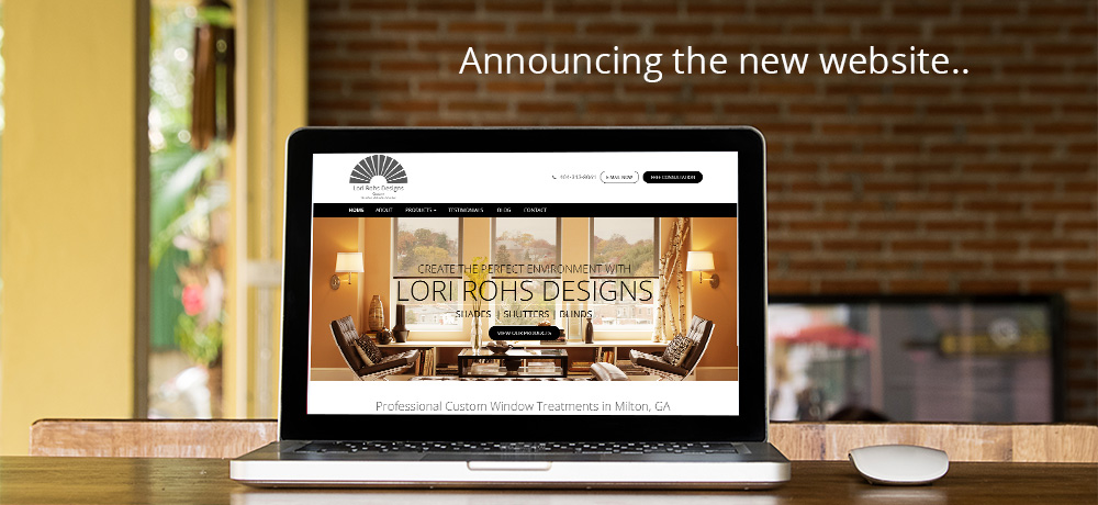 announcing the new website.