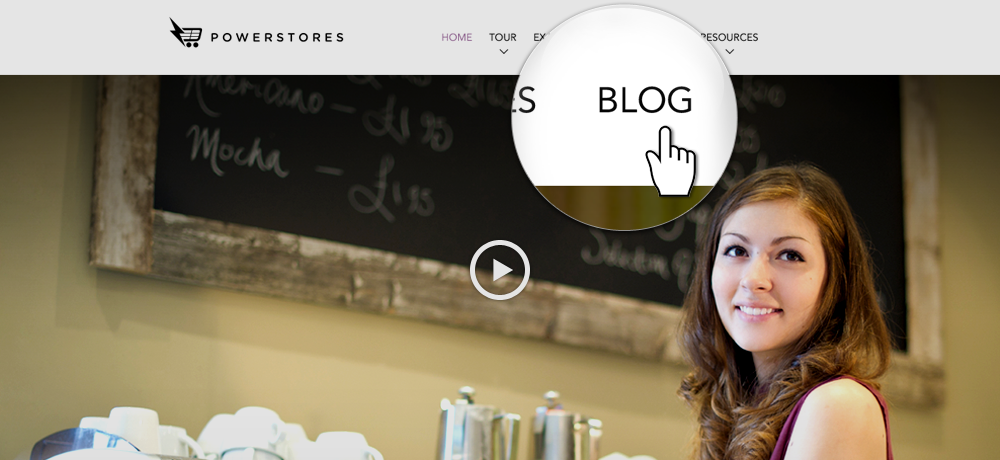 The PowerStores blog uses our own blog platform feature!