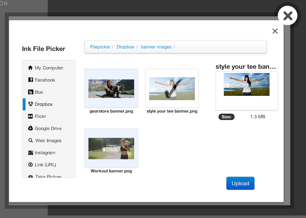 Use File Picker to select images from anywhere