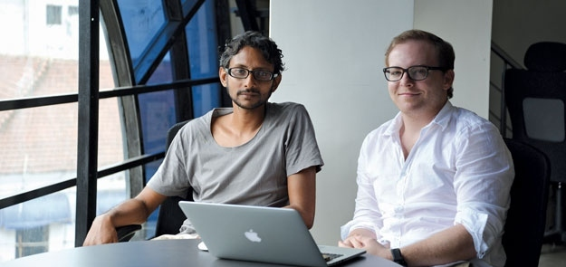 Cory York and Indrajit Chowdhury featured in The Goan