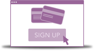 Sign up for your payment gateway