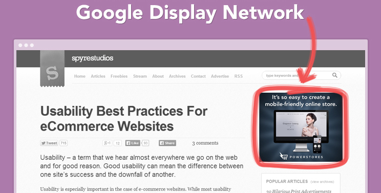 Advertising on Google Display Network