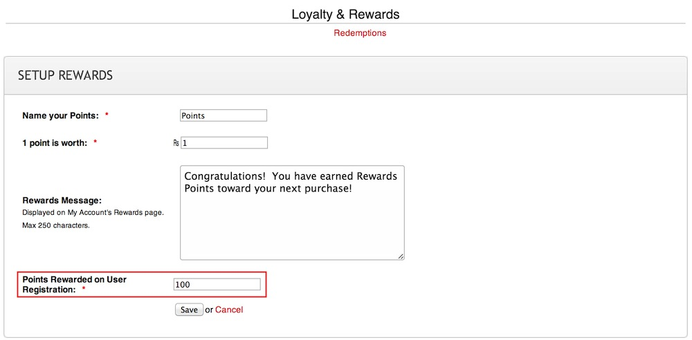 Setting up your Rewards Program in your Workspace