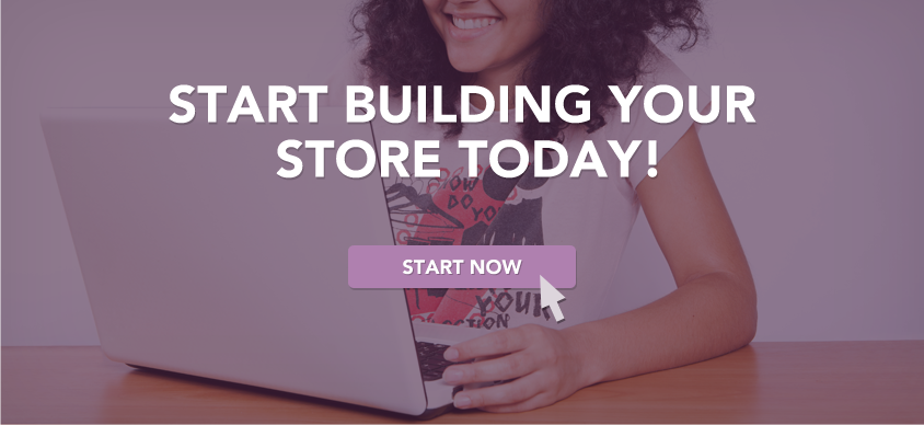 Start building your online store today!